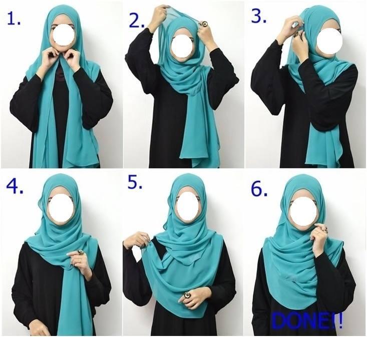 Comment mettre le hijab - Neyssa Boutique b56d5392e57