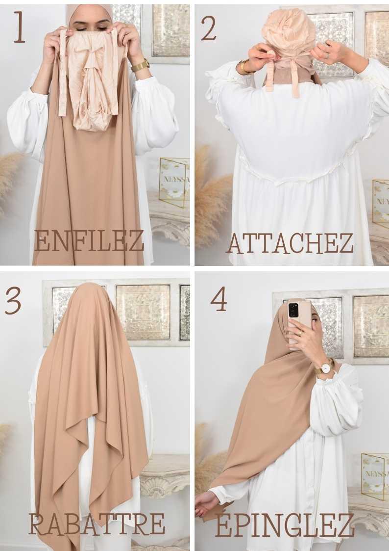 comment porter le hijab